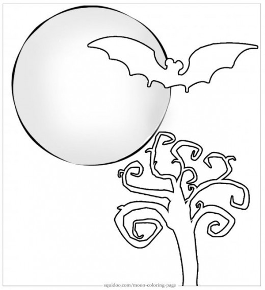Witch Riding Broomstick Coloring Page