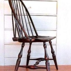 Comb Back Windsor Chair Ergonomic Lumbar Adjustment Authentic Chairs- A Guide To Identifying Antique Styles | Hubpages