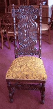 antique queen anne chair side chairs for dining room table a photo guide to identification | dengarden