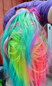 diy hair 10 ways dye colorful