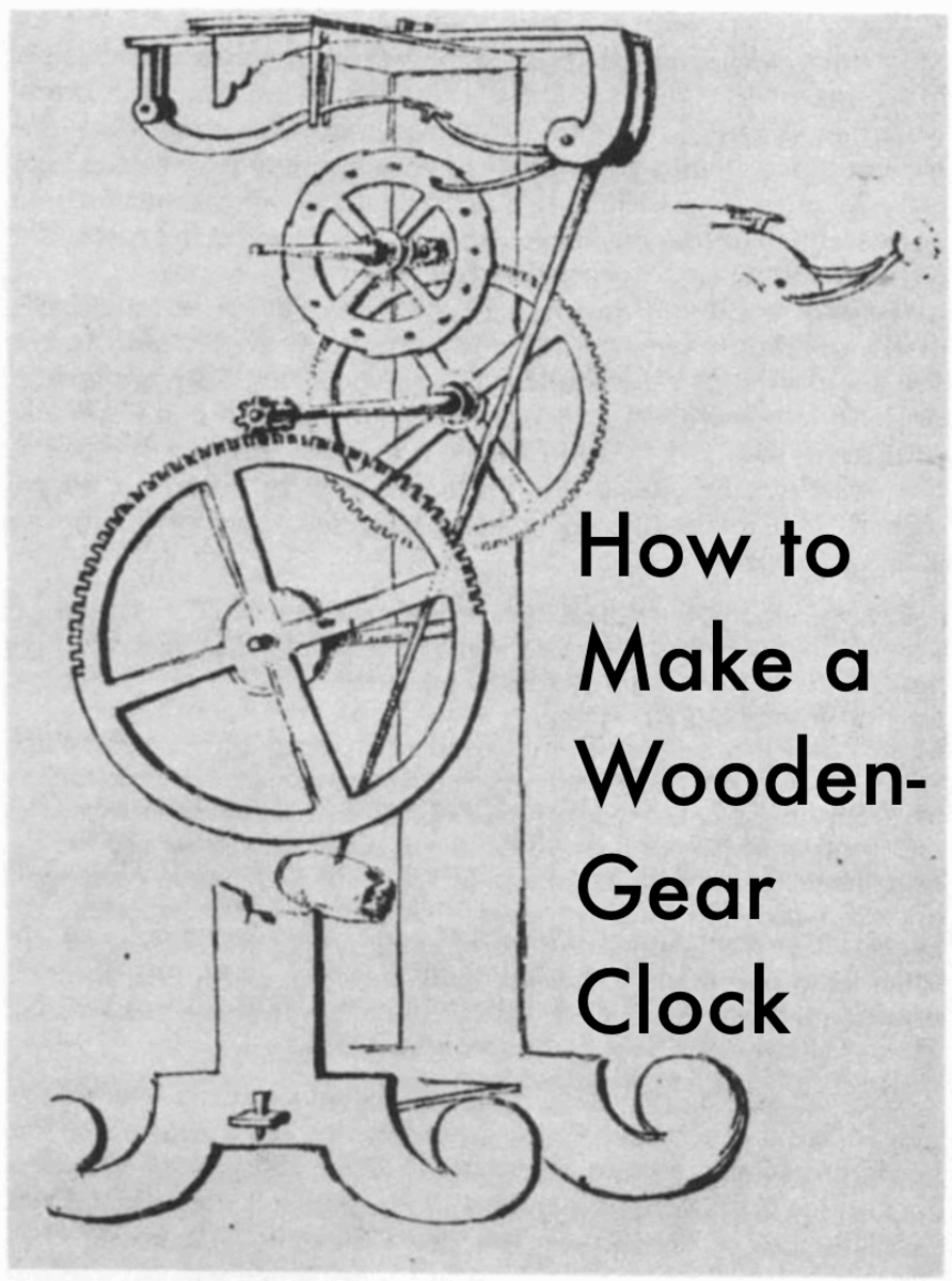 How To Make A Wooden Gear Clock