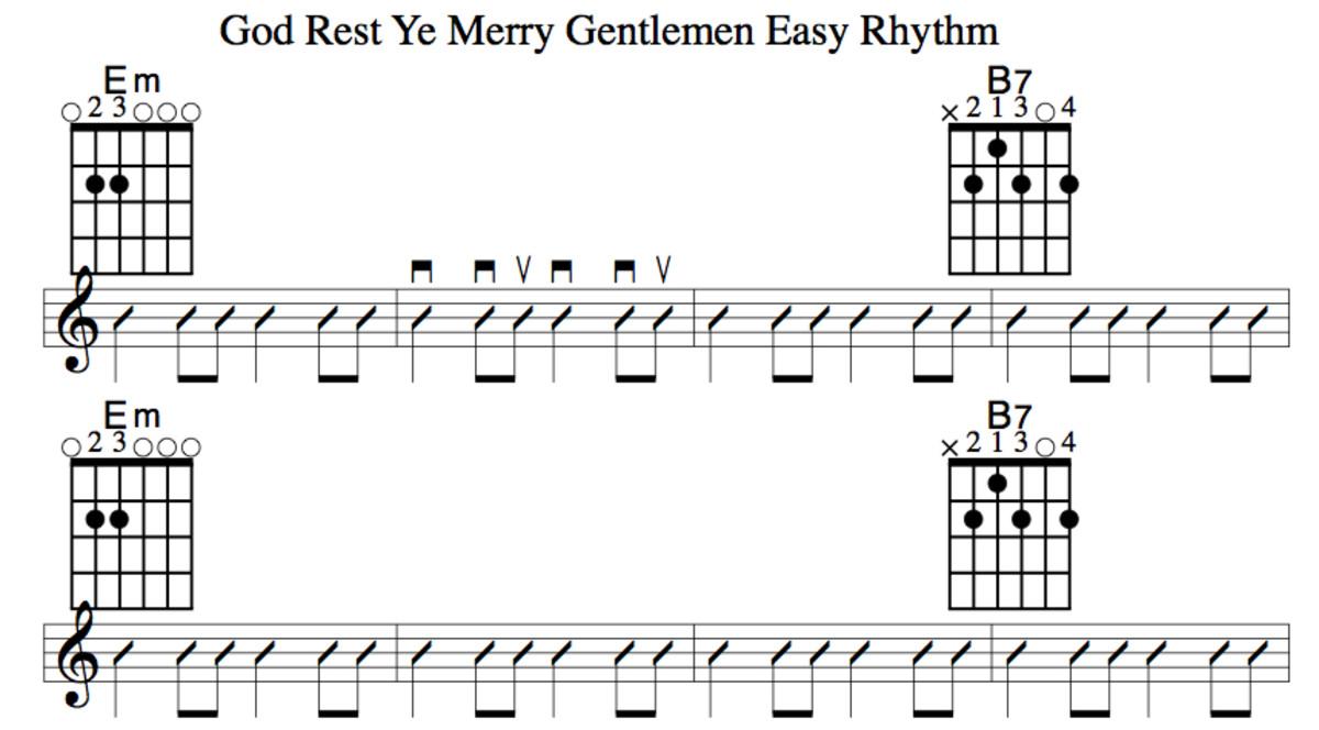 Easy Guitar Christmas Songs—God Rest Ye Merry Gentlemen