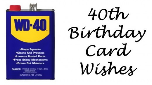 40th birthday wishes messages