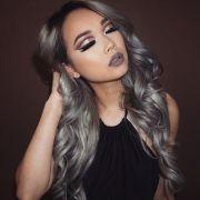 diy hair granny gray