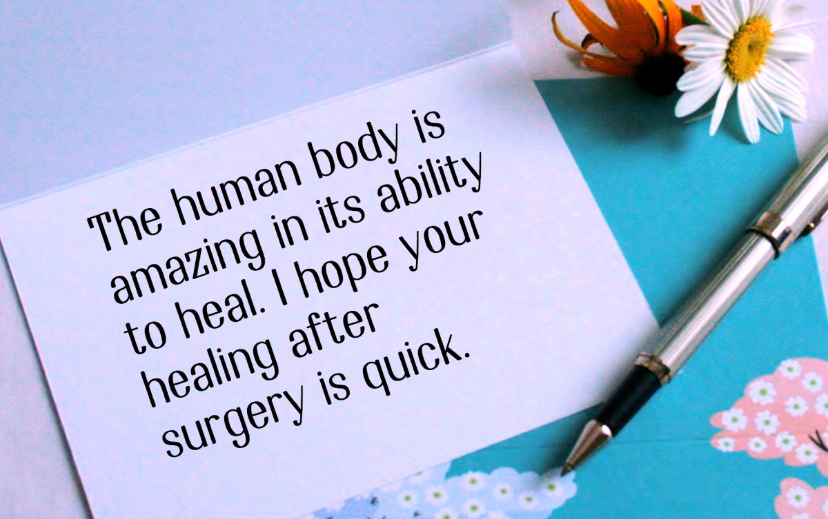 Get Well Messages For Someone Having Surgery Holidappy