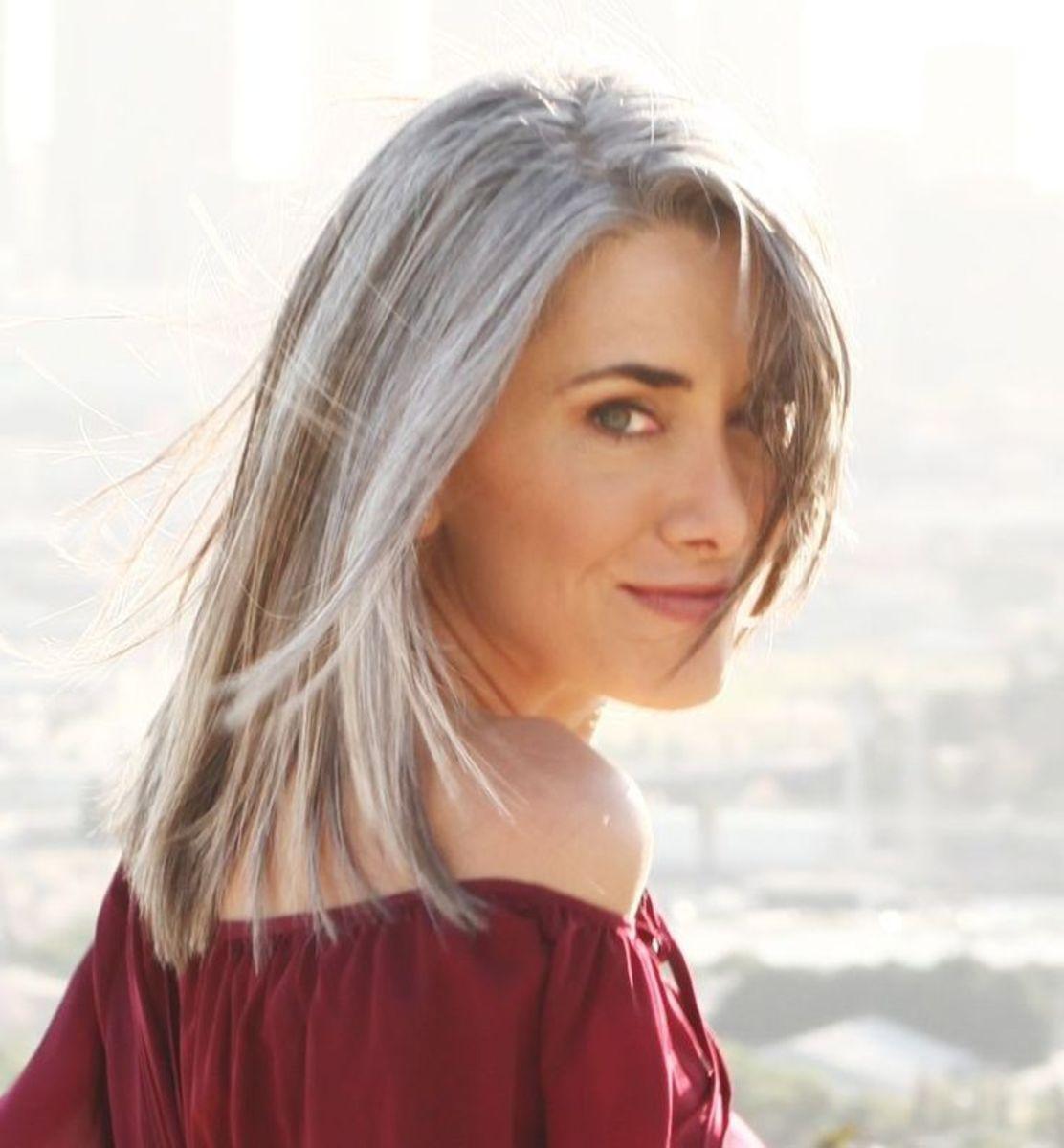 Silver Fox Hair Styles For Medium Texture Wavy Hair Bellatory