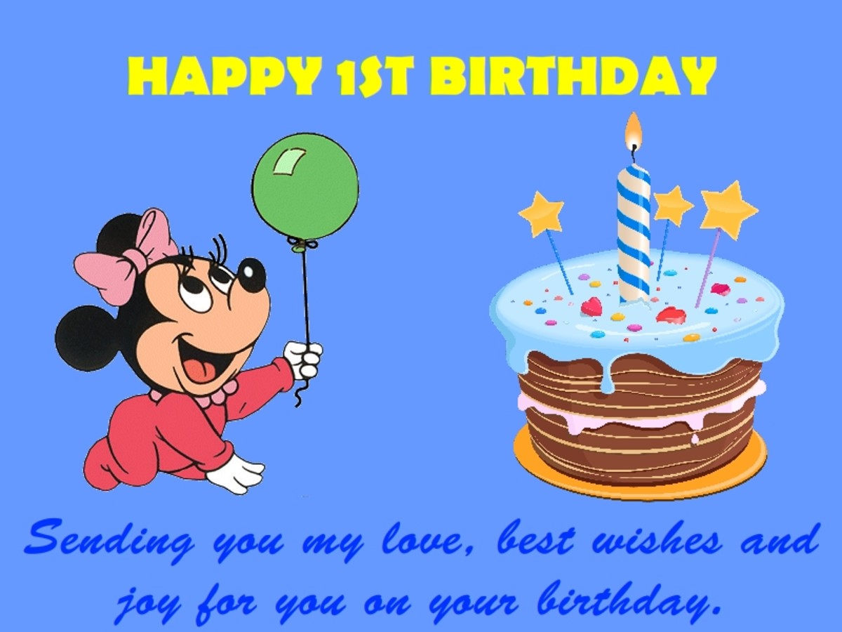 1st birthday wishes messages