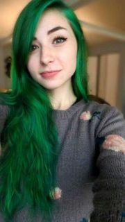 diy hair 10 green color ideas