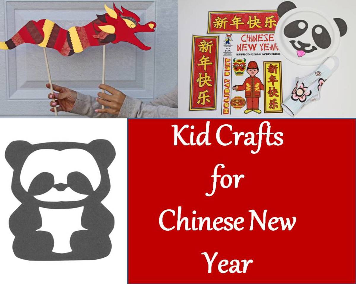 Kid Crafts For Chinese New Year Quick And Easy Printables
