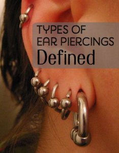 Find out where tragus anti conch and daith piercings are also  guide to different ear piercing types their positions tatring rh