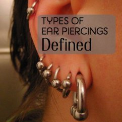 Different Ear Piercings Diagram Roll Up Door Motor Wiring A Guide To Piercing Types And Their Positions | Tatring