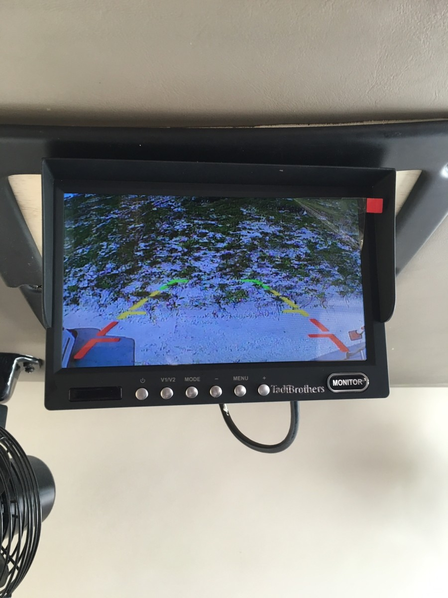 hight resolution of how to upgrade your old rv rear camera system to a color system