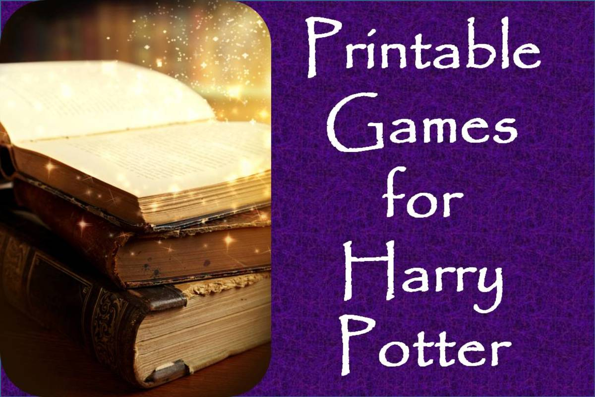Entertaining Harry Potter Party Games Printables And
