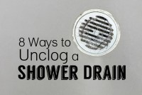 How to Clear a Clogged Shower Drain: 8 Methods | Dengarden