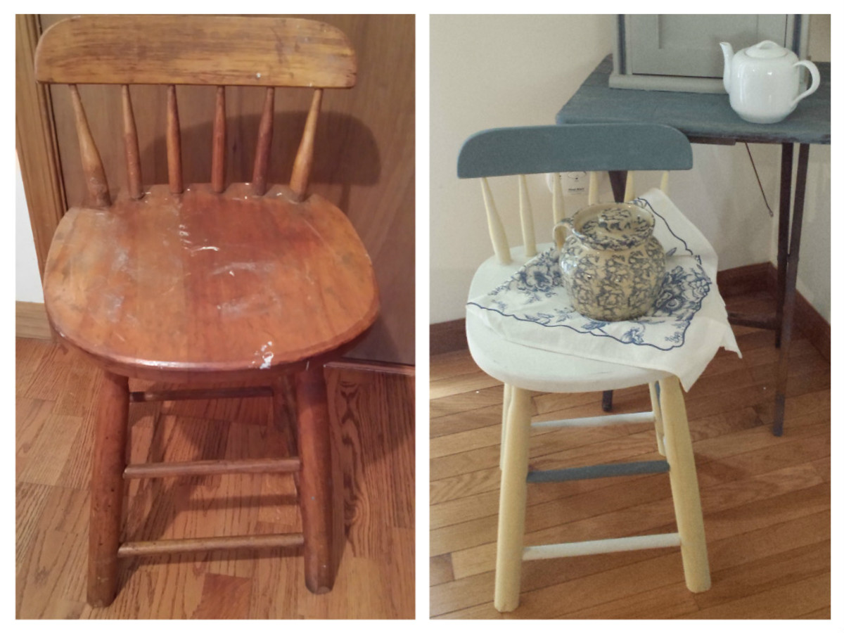 diy painted windsor chairs lawn chair covers walmart tutorial how to refinish vintage furniture with chalk paint