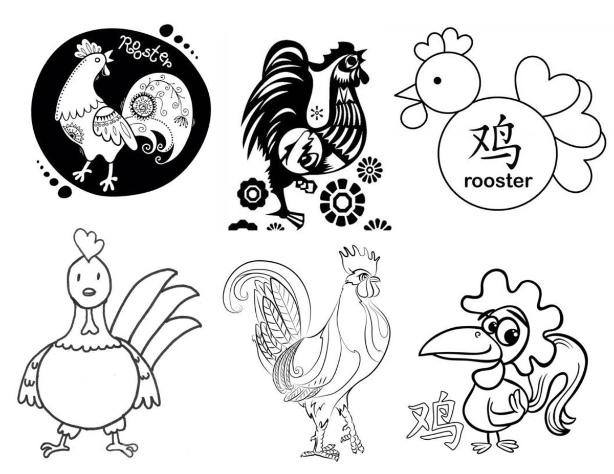 Kid Crafts for Year of the Rooster: Chinese New Year Art