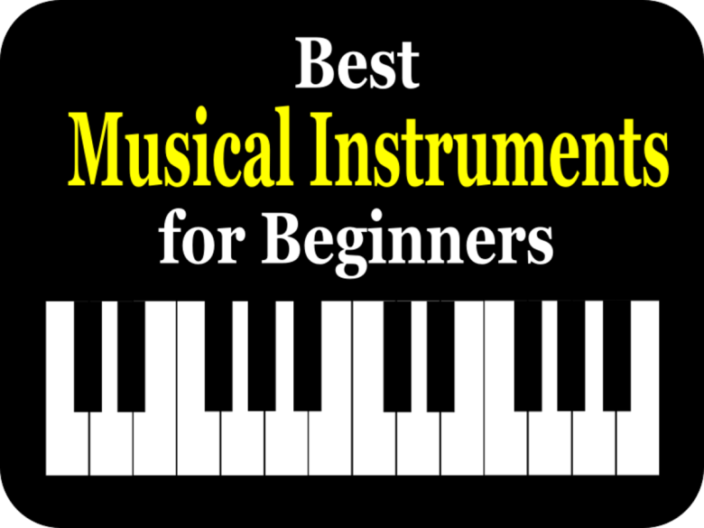 10 best musical instruments for beginners | spinditty