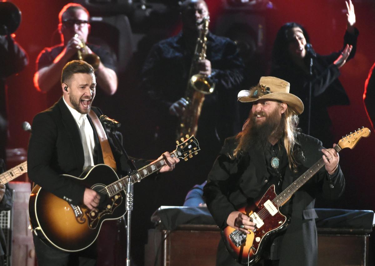 Justin Timberlake And Chris Stapleton Cma