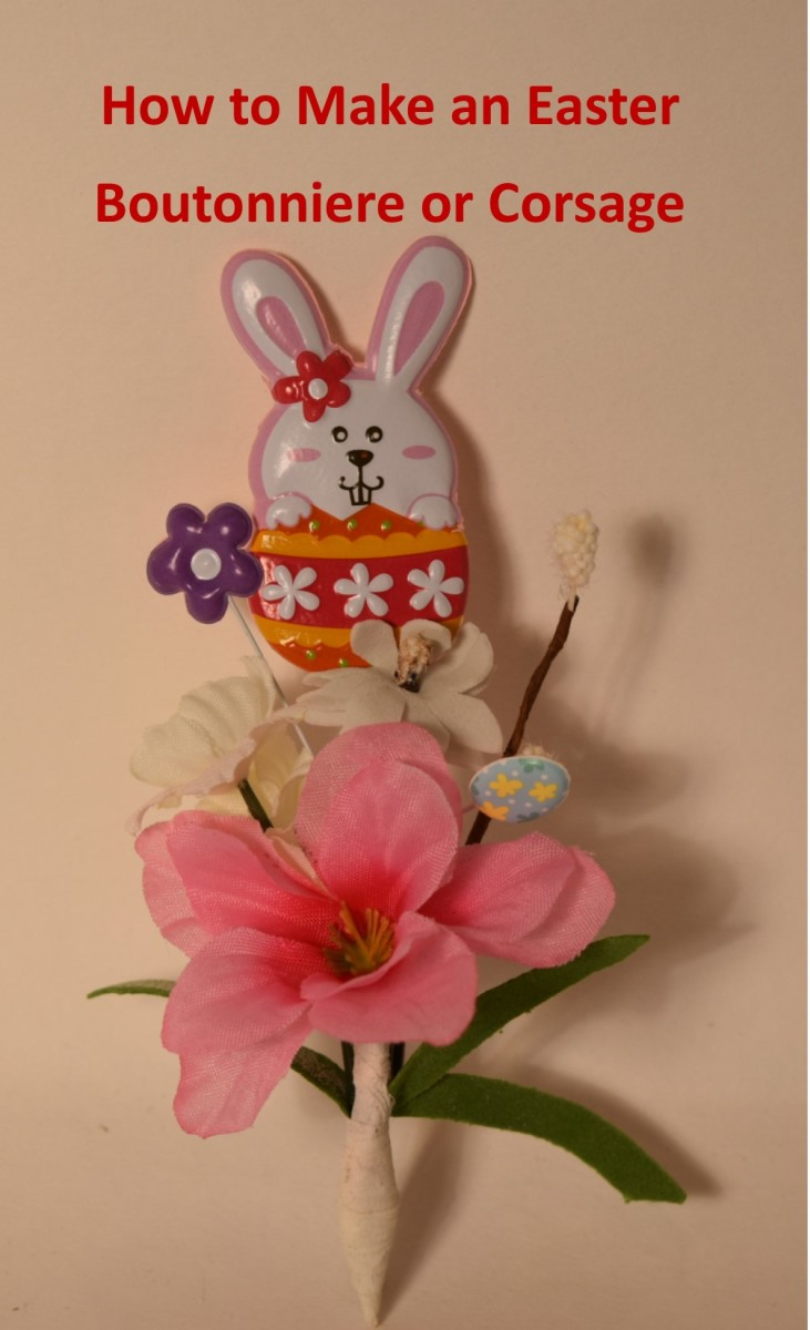 How To Make An Easter Boutonniere Or Corsage  Holidappy