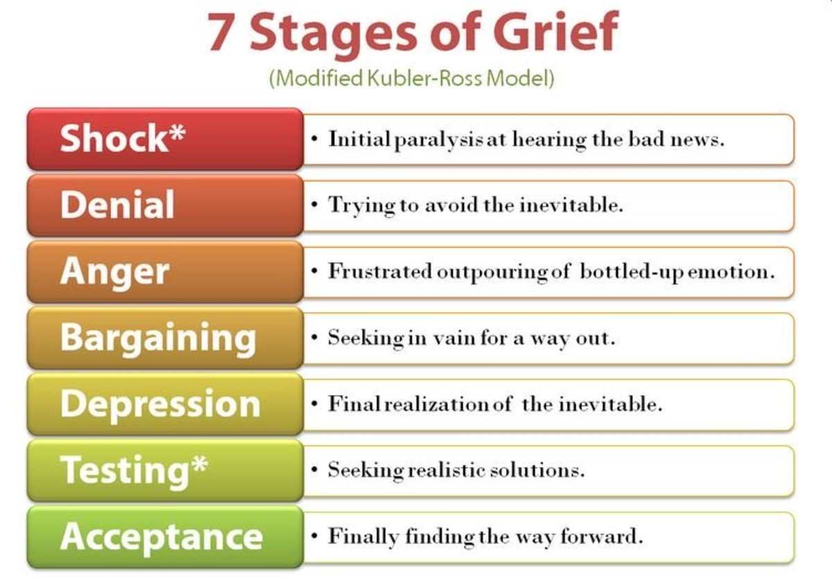 The Five Stages Of Grief In Lament For A Son