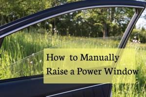 How to Raise a Power Window Manually | AxleAddict