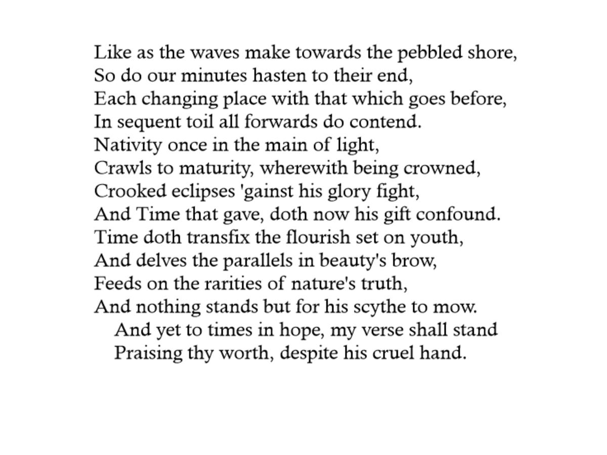 The Ocean Poem Summary
