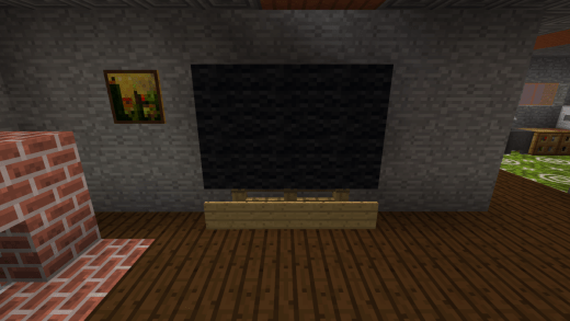 Building A Fireplace Television And Couch Makes Living Room Feel More Complete