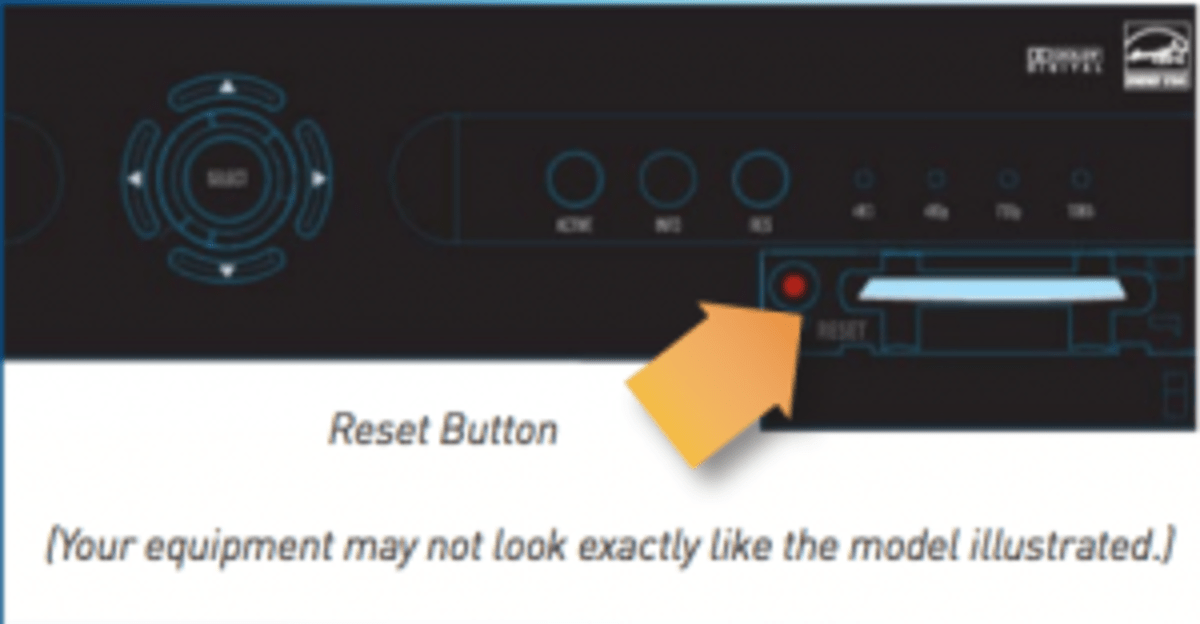 directv swm not detected 775 auto rod controls 3701 wiring diagram how to fix error codes hubpages access card and reset button location