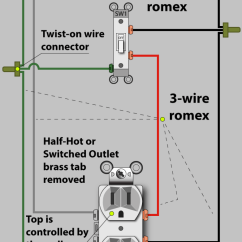 Wiring Diagram For Half Switched Outlet 2002 Ford Falcon Au An Electrician Explains How To Wire A (half-hot) | Dengarden