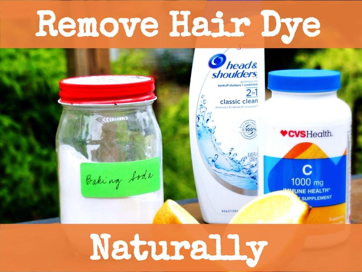 How To Naturally Remove Hair Dye With Baking Soda Vitamin