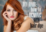 diy hair remove red