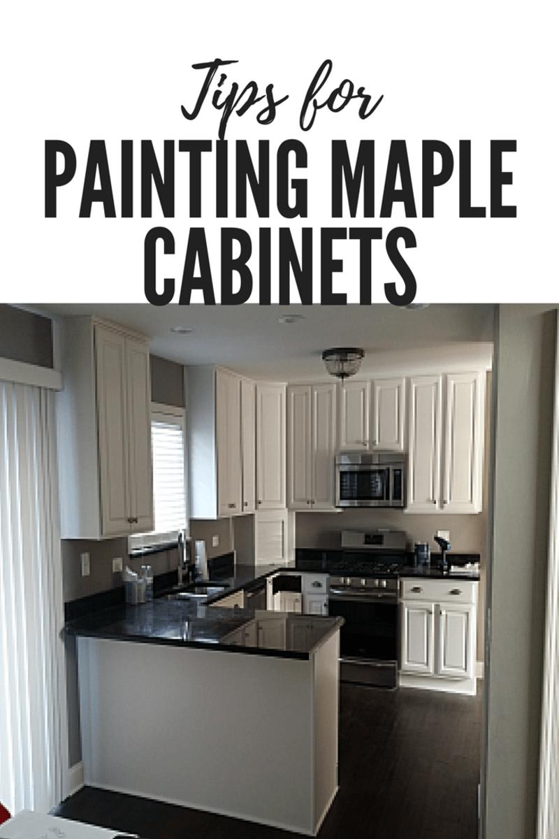 Refinishing Maple Cabinets White