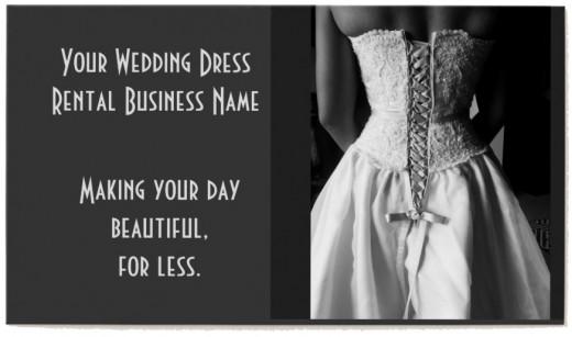 Start Your Wedding Dress Rental Business