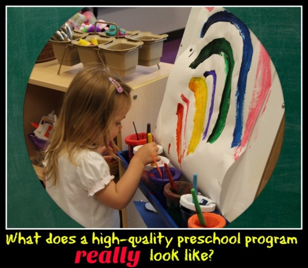 Characteristics Of High-quality Preschool Moms