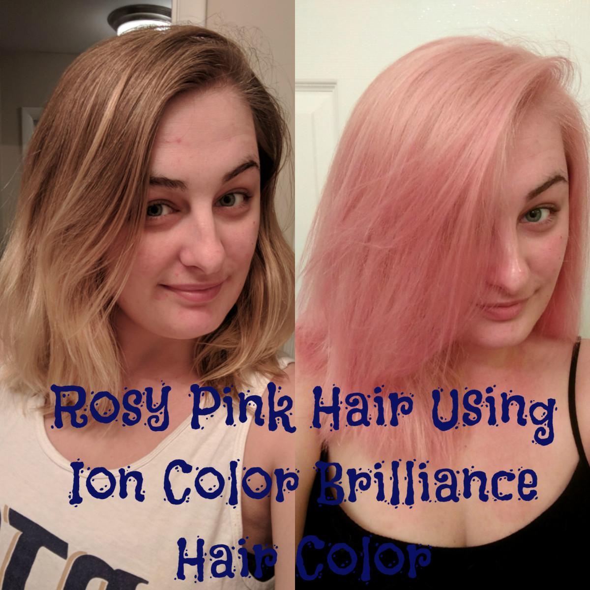 Hair DIY: How to Get Rose Quartz Hair Using Ion Color ...