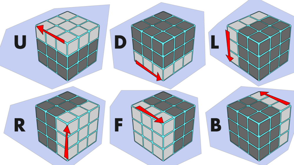 medium resolution of 7 rubik s cube algorithms to solve common tricky situations