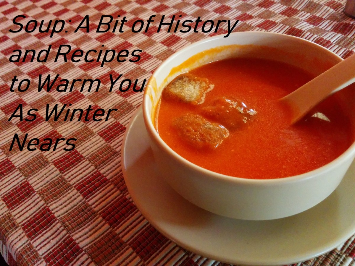 Soup: A Bit of History and Recipes to Warm You as Winter Nears   Delishably