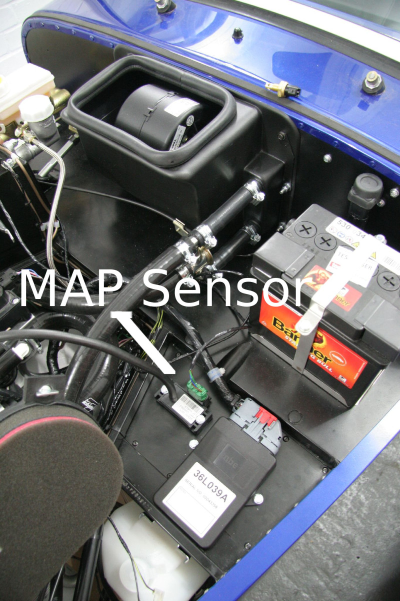 hight resolution of symptoms of a bad map sensor and how to test one