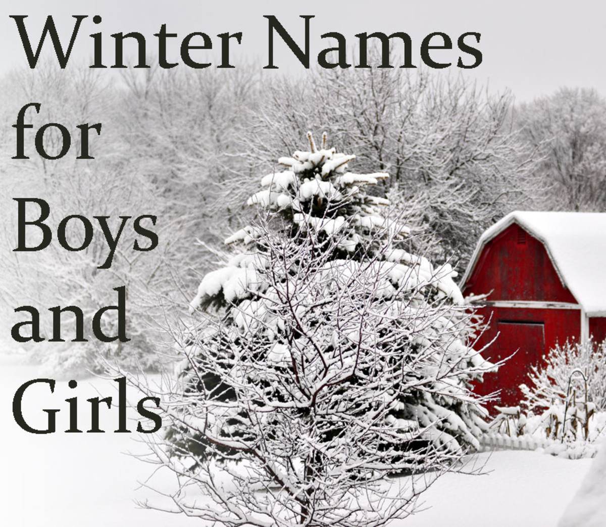 Winter Baby Names Inspired by Cold and Cooler Weather ...