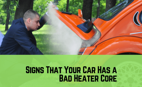 small resolution of five signs that your car has a bad heater core