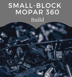build a hot running mopar 360 for street and strip [ 1080 x 1080 Pixel ]