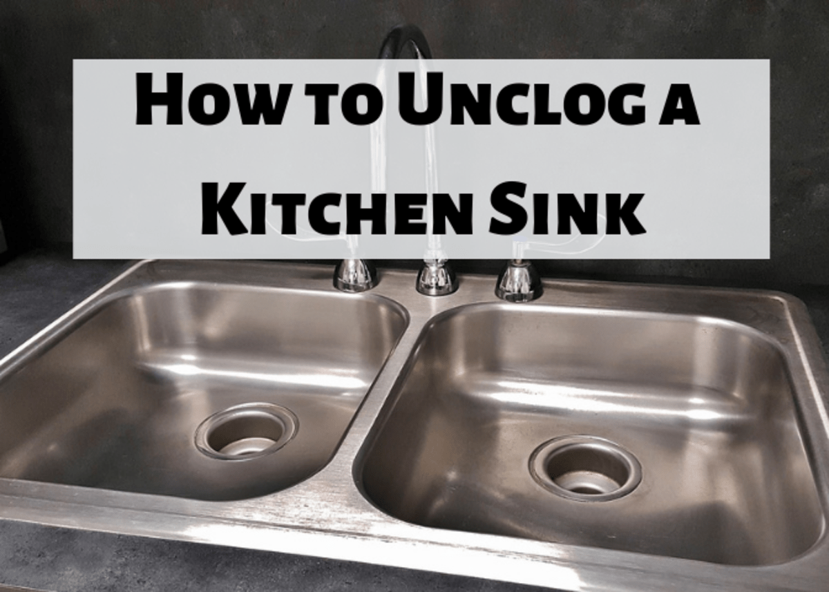 unclog kitchen drain white tile how to clear a clogged sink dengarden learn the different steps you can take your