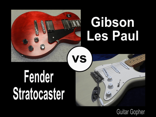 small resolution of gibson les paul vs fender stratocaster guitar review