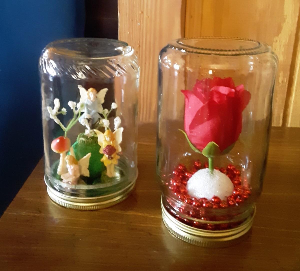 diy jar crafts feltmagnet