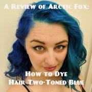 dye hair two-toned