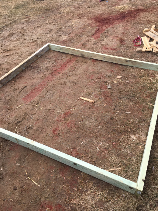 duck tractor frame