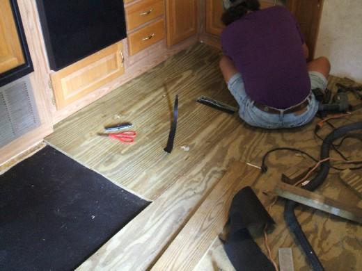 Caravan Trailer Wiring Diagram How To Repair Or Replace Rv Amp Camper Trailer Floors