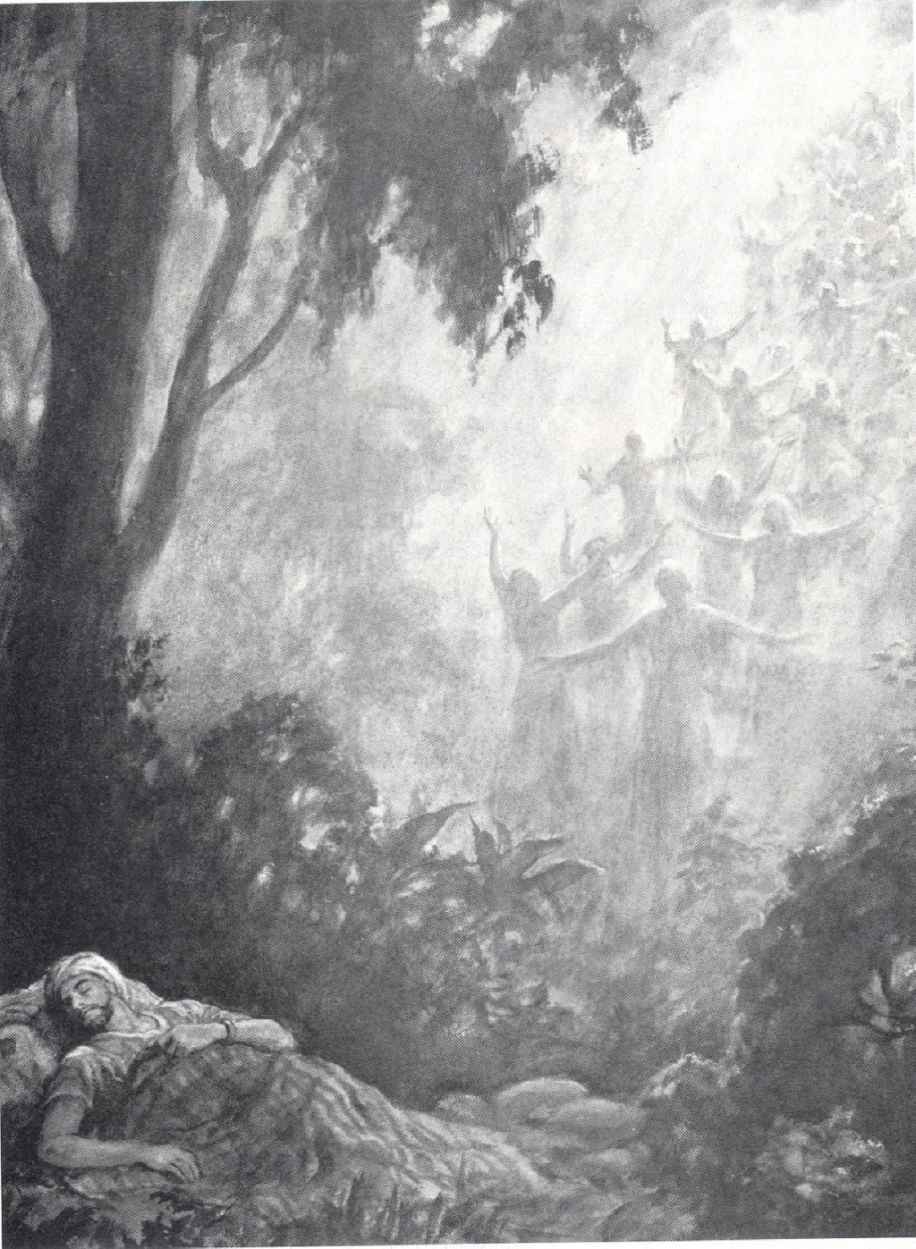 Jacob S Ladder The Gate Of Heaven Bible Genesis 28