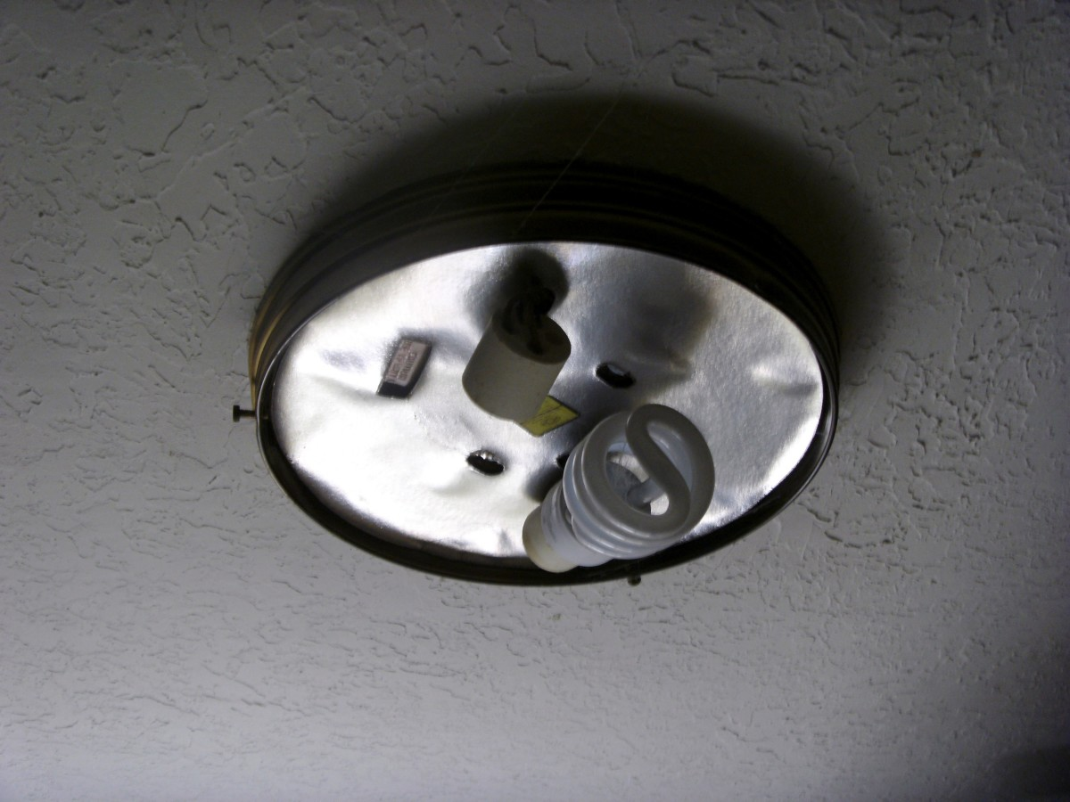 Old Wiring New Light Fixture