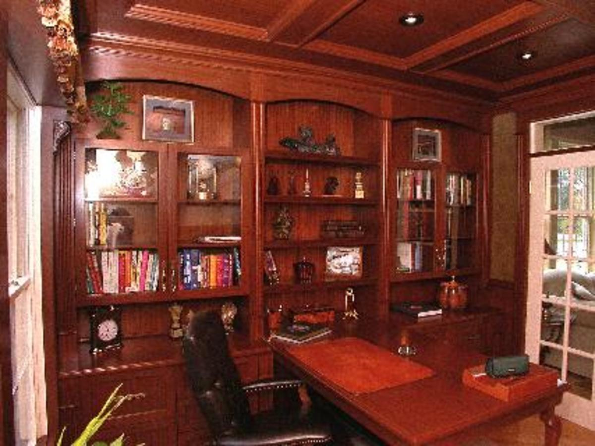 Home Improvement Paneling Millwork  I Love a Mahogany Library  HubPages